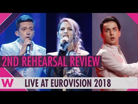 Second Rehearsals: Montenegro, Slovenia, Ukraine @ Eurovision 2018 (Review) | wiwibloggs