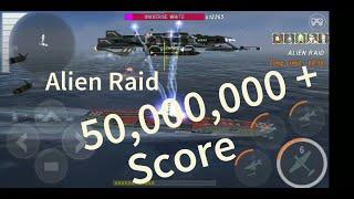Waship Battle : Alien Raid | Forrestal Boom High Score| 50+ Million Score | 2020
