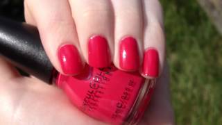 Sinful Colors Timbleberry video swatch