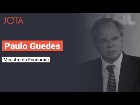 Ministro Paulo Guedes fala sobre os rumos da agenda econômica em entrevista exclusiva