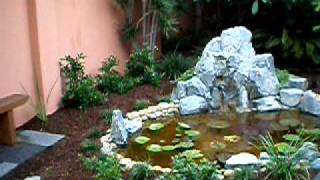Japanese Water Feature Garden