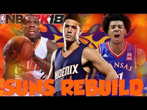 INSANE FREE AGENCY SIGNING!! REBUILDING THE PHOENIX SUNS!! NBA 2K18 MY LEAGUE