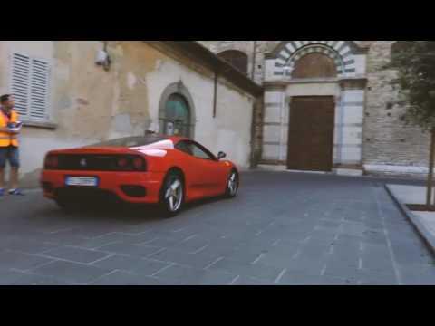 Flashmob per Vettel 13 luglio 2017......SFC Prato, Conservatorio San Niccolò Prato, CGFS Prato