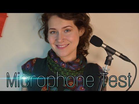 ASMR Heavenly Mic Test - Do you like my new microphones?