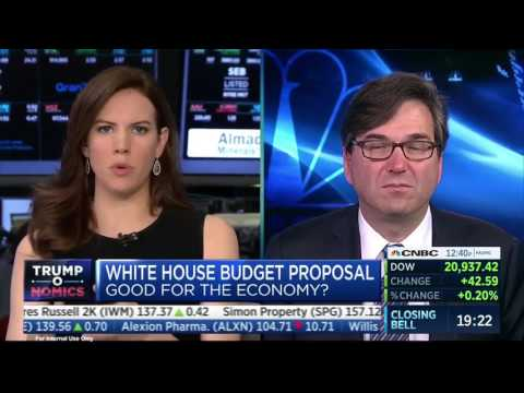 "Romina Boccia joins CNBC's ""Closing Bell"" to talk President Trump's budget"