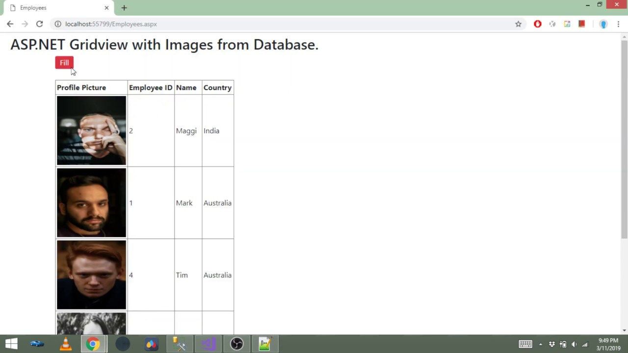 How to show images in ASP NET GridView from Image Path