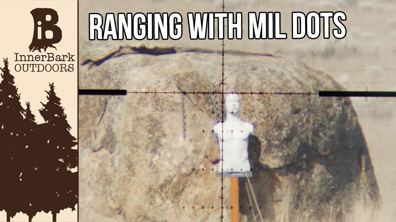 Ranging With Mil Dots Easier Than You Think Youtube