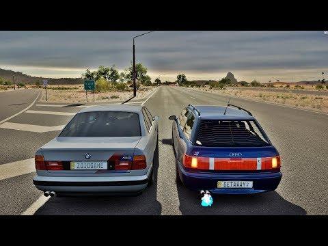 Forza Horizon 3 Online - BMW M5 VS Audi RS 2 Avant Do Getaway Driver ( Resultado Do Desafio )