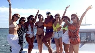 Florida Yacht Charter with Sexy Girls Cruise Film