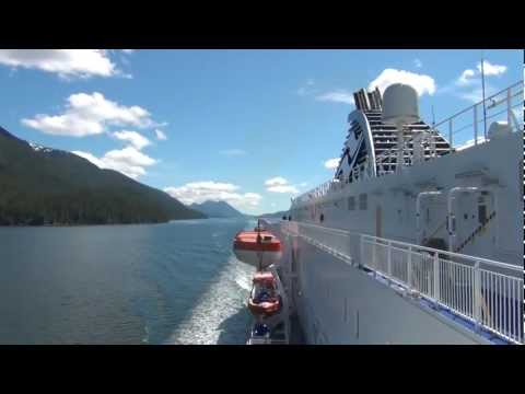 HD video. Highlights of Inside Passage, B.C., Canada