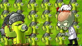 Plants vs Zombies 2 Gameplay Monster Cactus Challenge Primal Gameplay PVZ 2