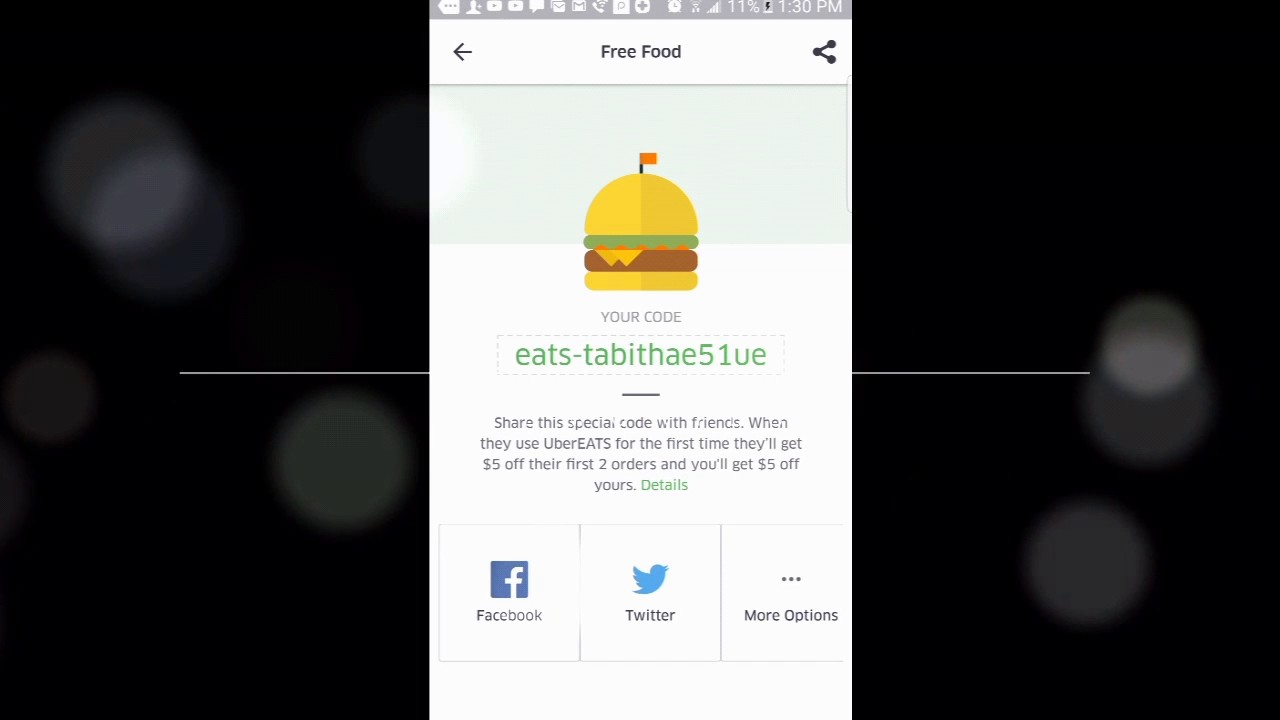 Uber Eats Promo Code 2019 2020 Youtube