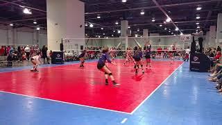Club One 15 Gold Volleyball - Day 2 - SCVA #tabor #ivett #peyton #brooklyn