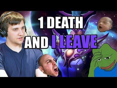 Dota 2: Arteezy - 1 Death and I Abandon | Yolo Push Down Mid