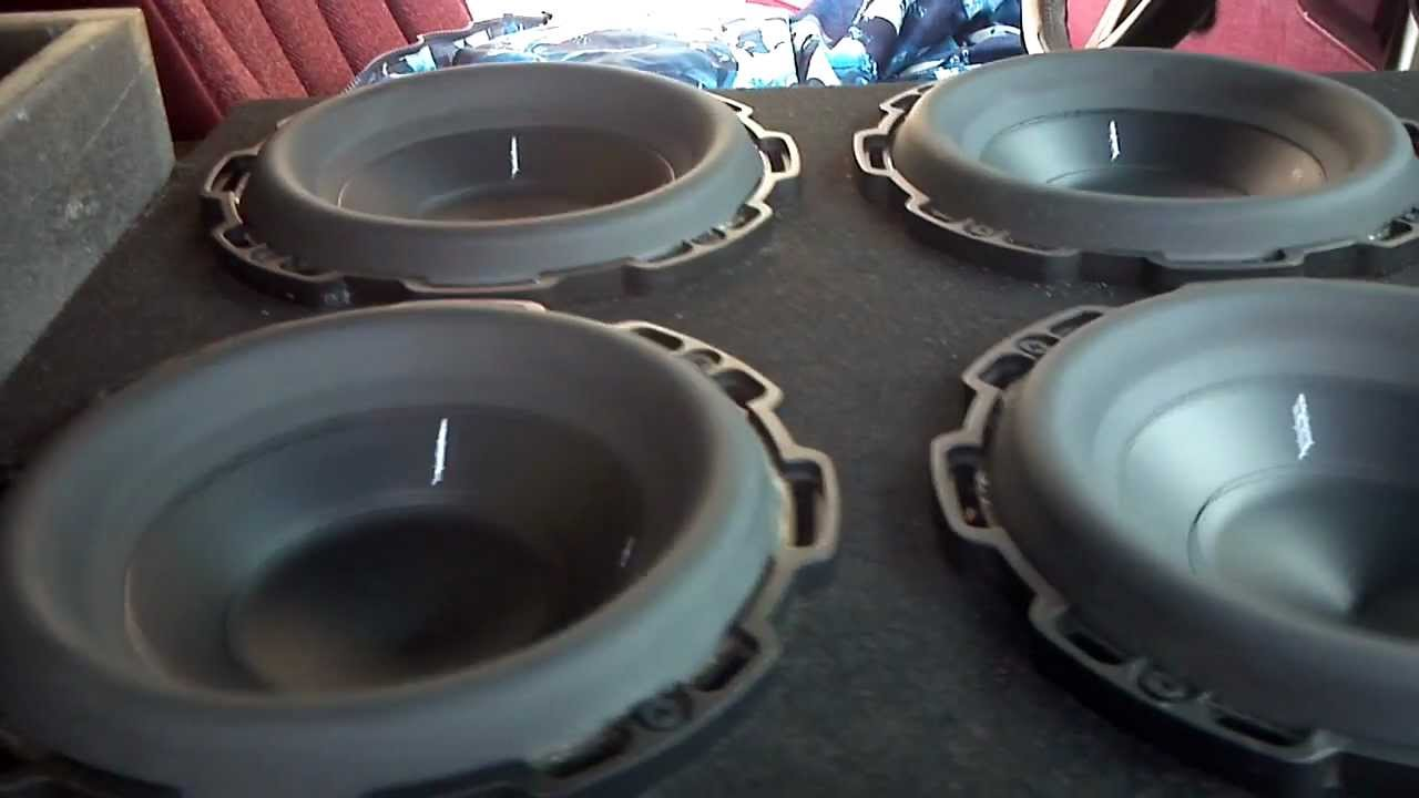 6 Rockford Fosgate P2d2 8s Youtube 8 Subwoofer