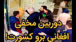 دوربین مخفی - افغانی برو کشورت| من نمیزارم افغانی نان بگیره