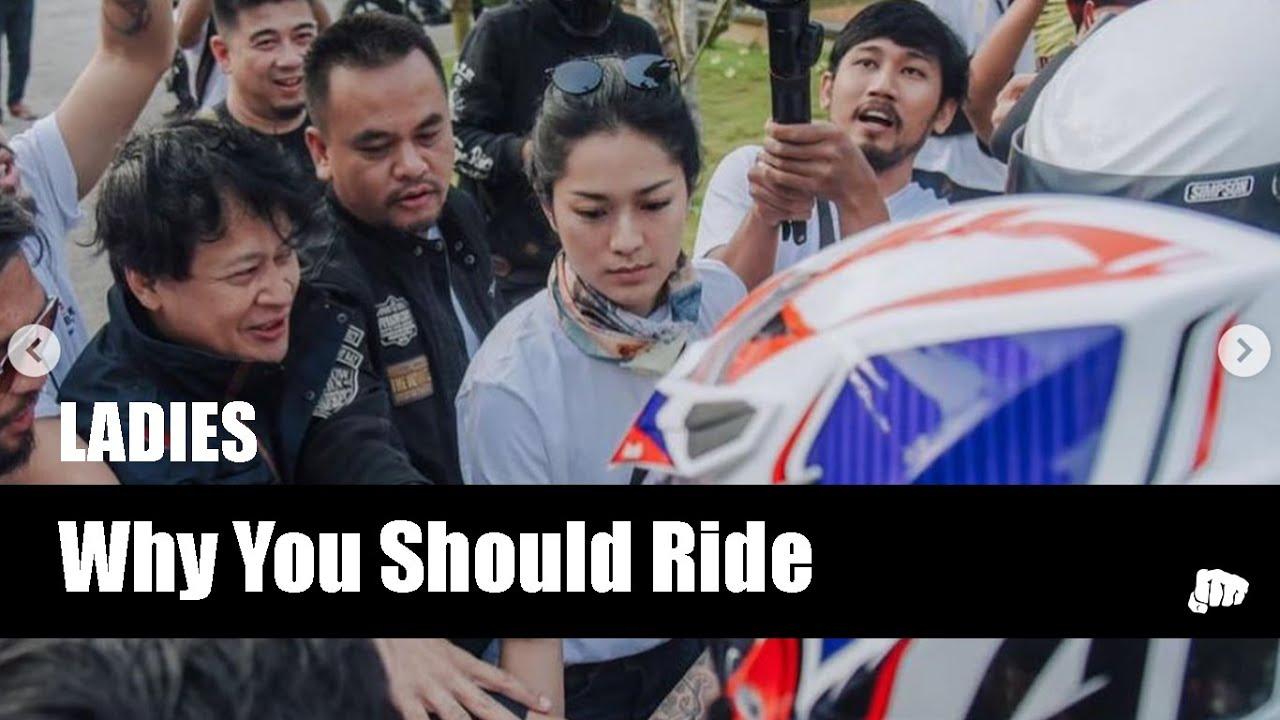 "Download Interview with Prisia Nasution - ""Ladies"" who ride"