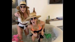 Girlfriend Put A Hot Tub In Their Apartment! - The Adley Show