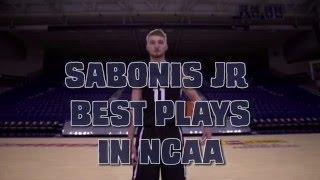 Domantas sabonis best plays in 2015-16