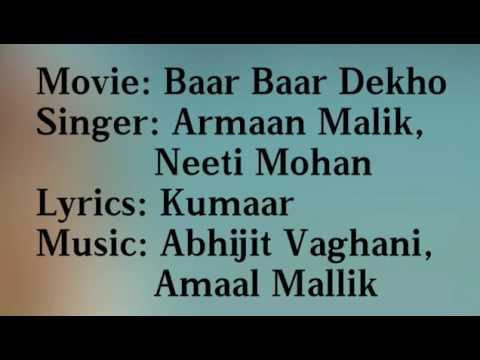 Sau Asmaan| Baar Baar Dekho|Armaan Malik