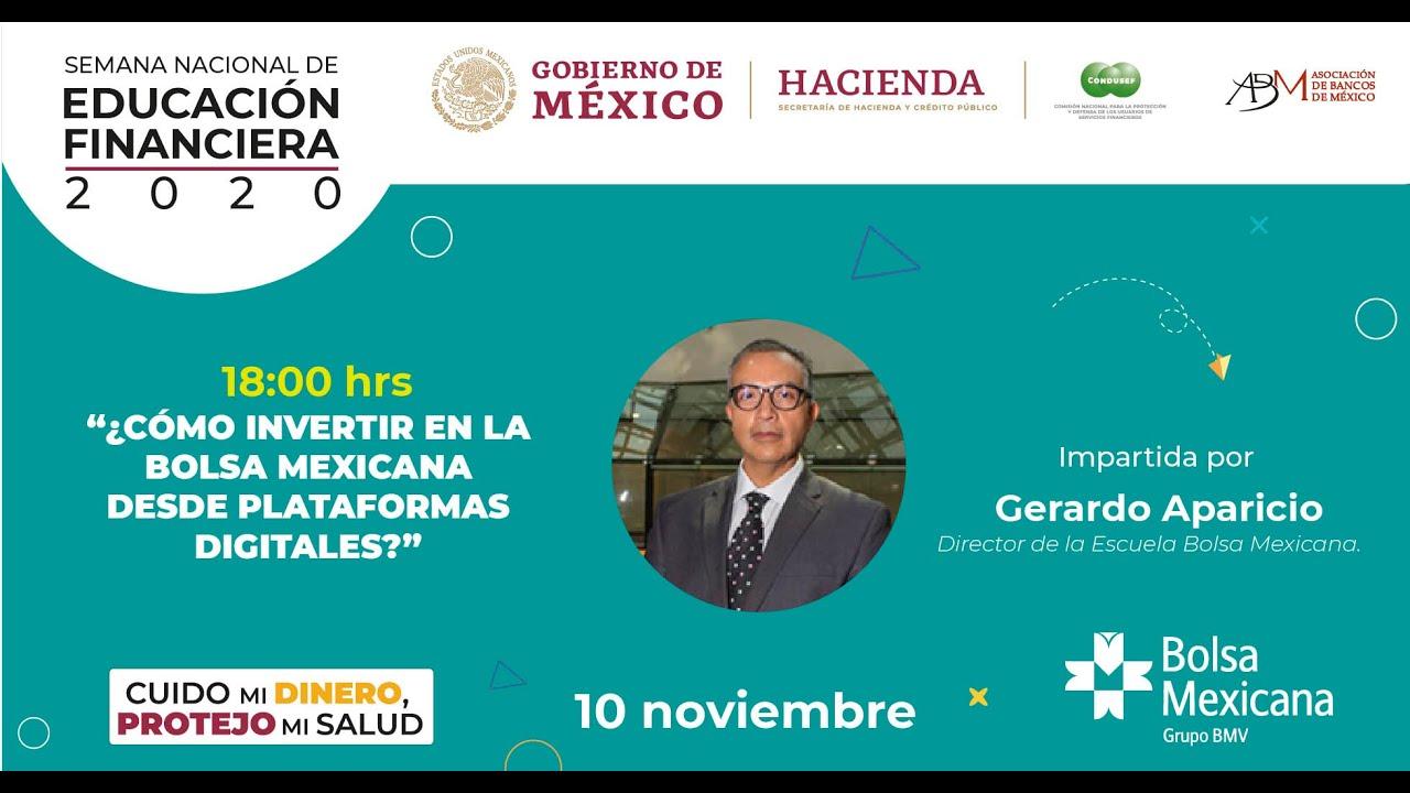 ¿Cómo invertir en la Bolsa Mexicana desde plataformas digitales?