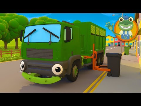 Rebecca Recycles | Garbage Truck Song |  Gecko's Garage