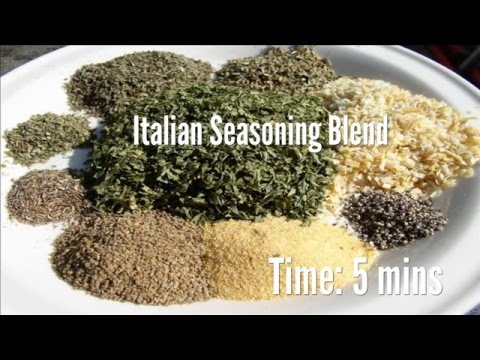 Italian Seasoning Blend Recipe