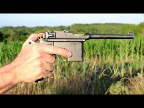 Shooting the Mauser C96 Broomhandle