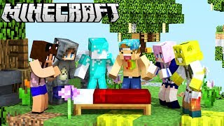 YOUTUBER BED WARS IN MINECRAFT!