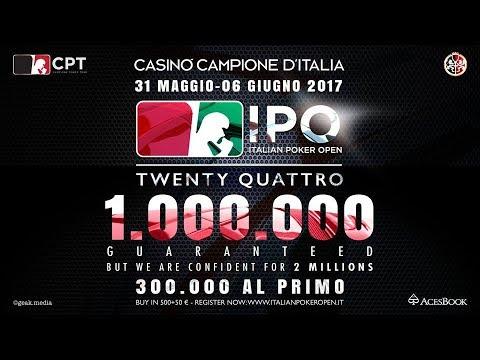 Italian Poker Open 24  --  Final Table  --
