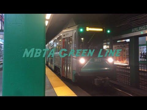 MBTA Green Line Trains!
