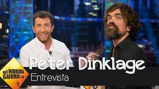 Peter Dinklage y Pablo Motos brindan con, ¿cerveza? - El Hormiguero 3.0