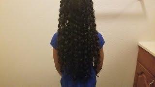 Weekly hair care routine/ የልጆች ፀጉር አጠባበቅ።