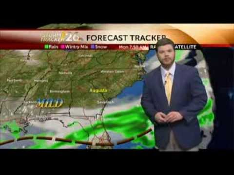 Augusta, GA Weather Forecast For Monday, 2/24/14