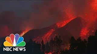 La Palma Volcano Eruption Forces Thousands To Evacuate