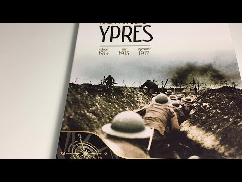 Informal unboxing video of Red Poppies Campaigns, Vol. 1: The Battles for Ypres