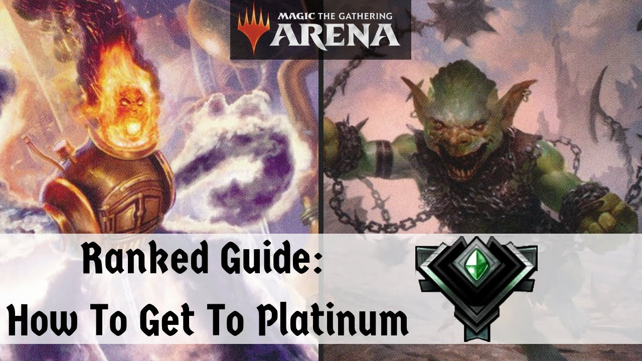 How To Get To Platinum | MTG Arena | Ranked Guide