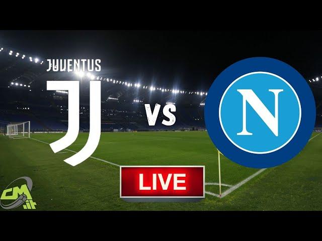 JUVENTUS-NAPOLI LIVE! Cronaca in DIRETTA Serie A [NO Streaming]