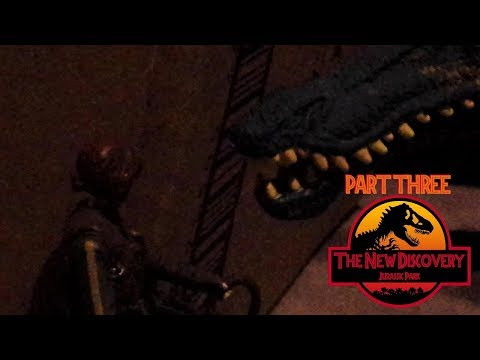 The New Discovery: Jurassic Park (Toy Movie REMAKE) Part 3/6