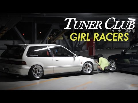 Osaka JDM Girls with Tricked Honda Civics – Tuner Club Eps.4
