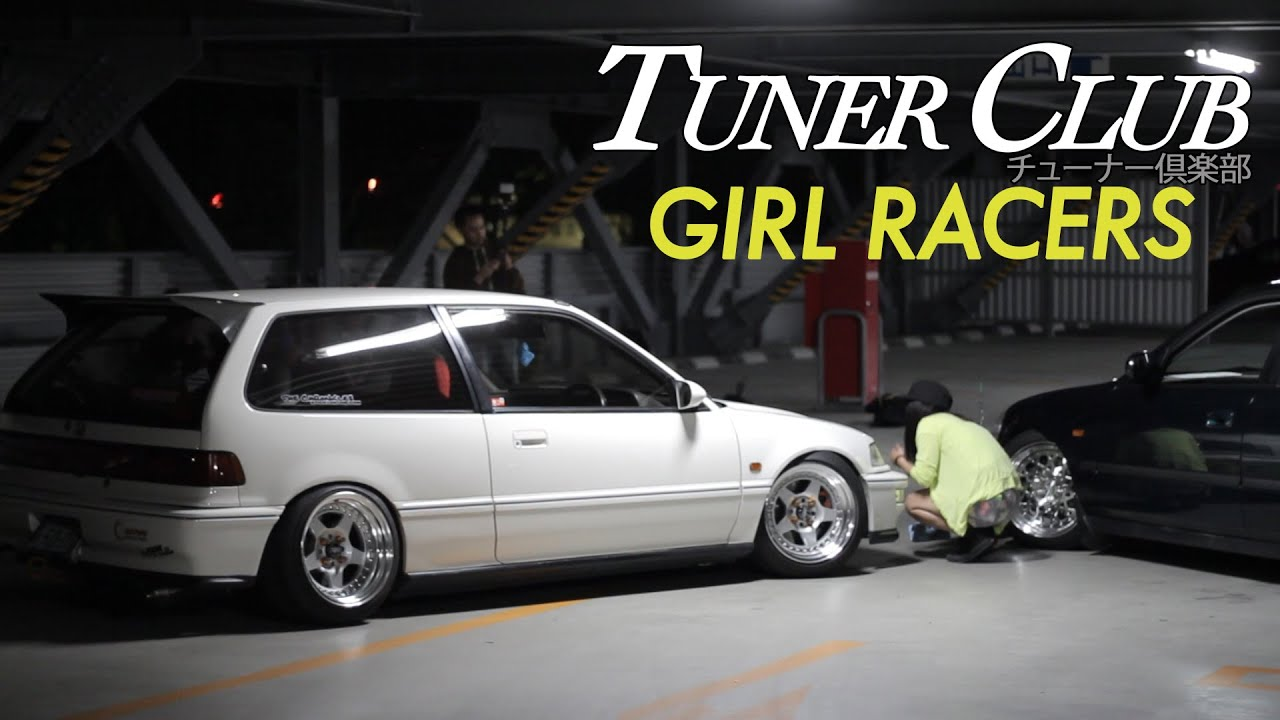 Osaka Jdm Girls With Tricked Honda Civics Tuner Club Eps 4 Youtube
