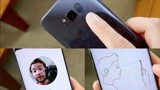Samsung Galaxy S8 Biometrics: Iris Scanner vs Facial Recognition vs Fingerprint Sensor
