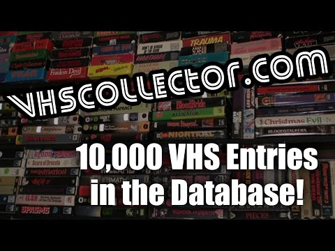 VHSCollector.com: 10,000 VHS Releases in the Database