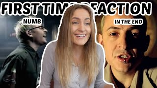 FIRST TIME Reaction To Linkin Park (In The End & Numb)