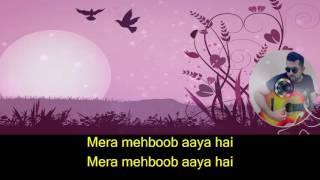 Baharoo Phool Barsaao karaoke with lyrics
