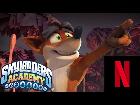 Crash Bandicoot in Skylanders Academy