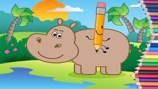 Drawing For Kids - Kids Learn To Draw About Animals and Means Of Transport - Learn to Draw!