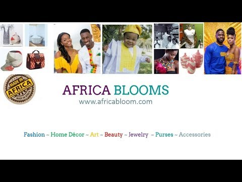 Africa Bloom | #1 Marketplace for African Fashion & Handmade Crafts | Africabloom.com