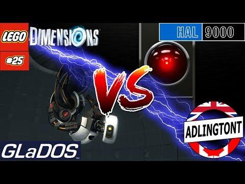 HAL 9000 vs GLaDOS - Lego Dimensions #25