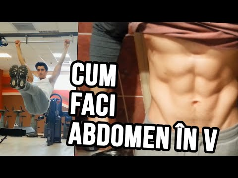 Cum faci Abdomen în V - Explicație + Rutină Antrenament